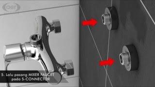 AER Sanitary - Video Pemasangan Kran Mixer Shower Set