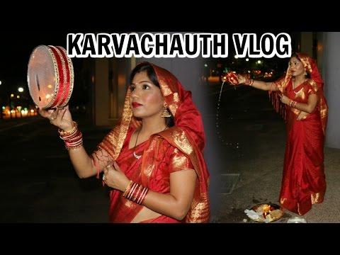 Karvachauth 2016 Vlog |A Day In My Life Vlog | SuperPrincessjo