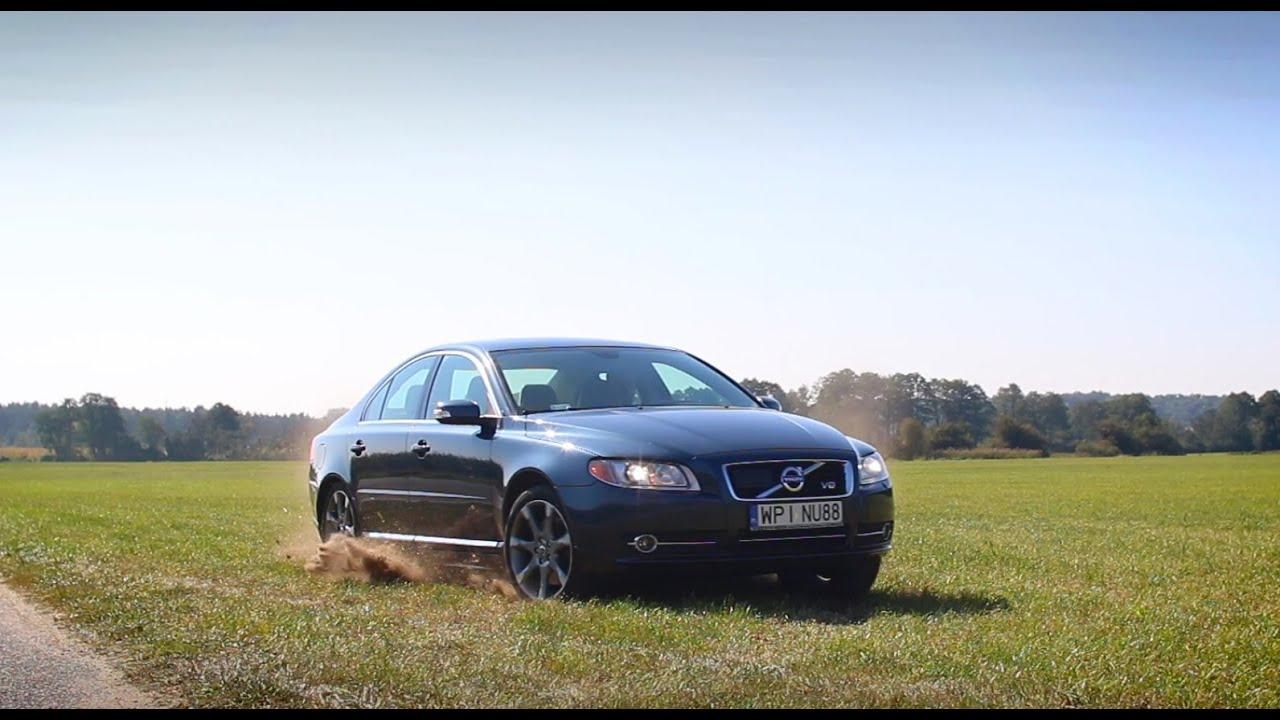 Volvo S80 4.4 V8 with custom racing exhaust - YouTube