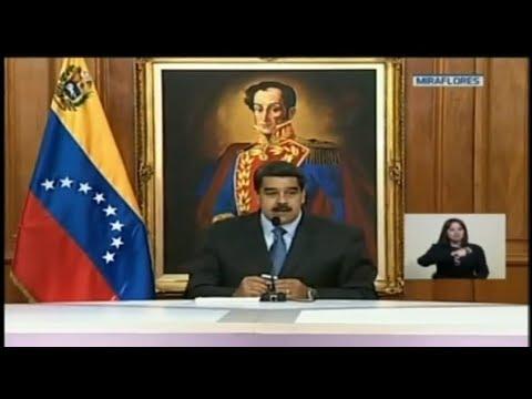 Presidente Nicolás Maduro presenta pruebas del intento de magnicidio 07/08/2018