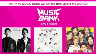 GOT7, NCT127,SF9, Wanna One,TVXQ!,MONSTA X,April,CLC,etc [MusicBank Live 2018.3.30]