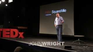 Rediscovering playfulness in acting: John Wright at TEDxSquareMile2013