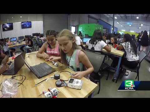 Young women learn STEM in San Joaquin County's FabLab