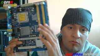 motherboard asrock g41c vs lga775 eup ddr2 ddr3 support windows 8 1 unboxing