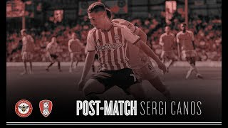 Sergi Canos reflects on victory over Rotherham United