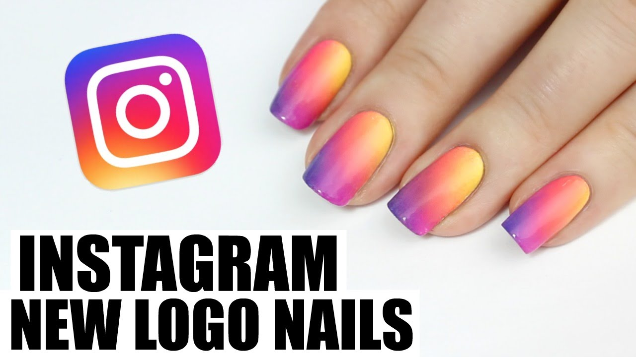 Instagrams New Logo Nail Art Youtube