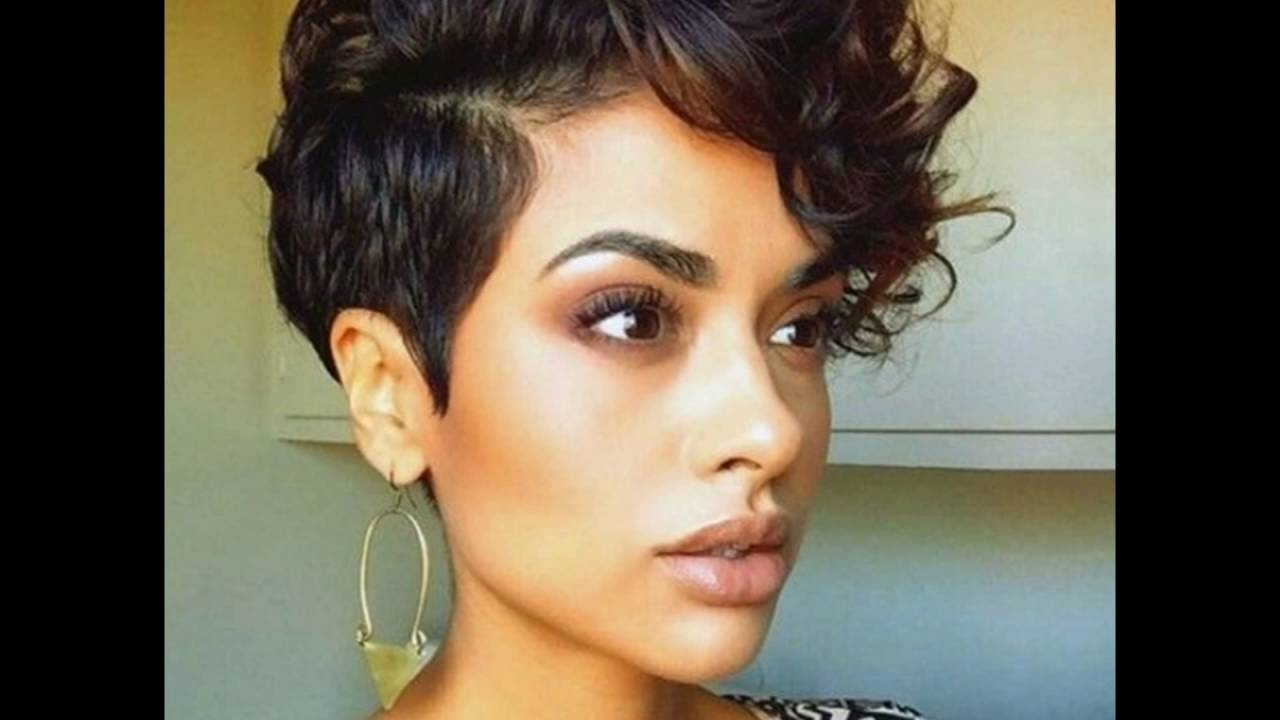 cute and curly short hair