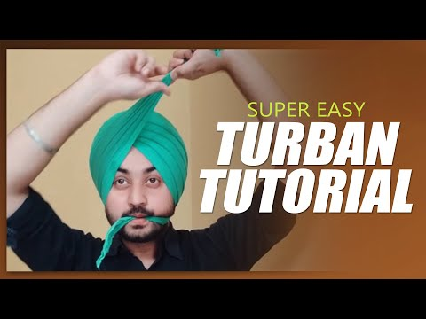 How to tie turban  | Easy Pagg tutorial | Like Diljit Dosanjh