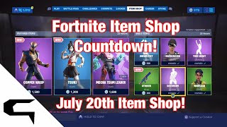 Don skins!! FORTNITE ITEM SHOP COUNTDOWN 20 juillet magasin d'objets Fortnite battle royale