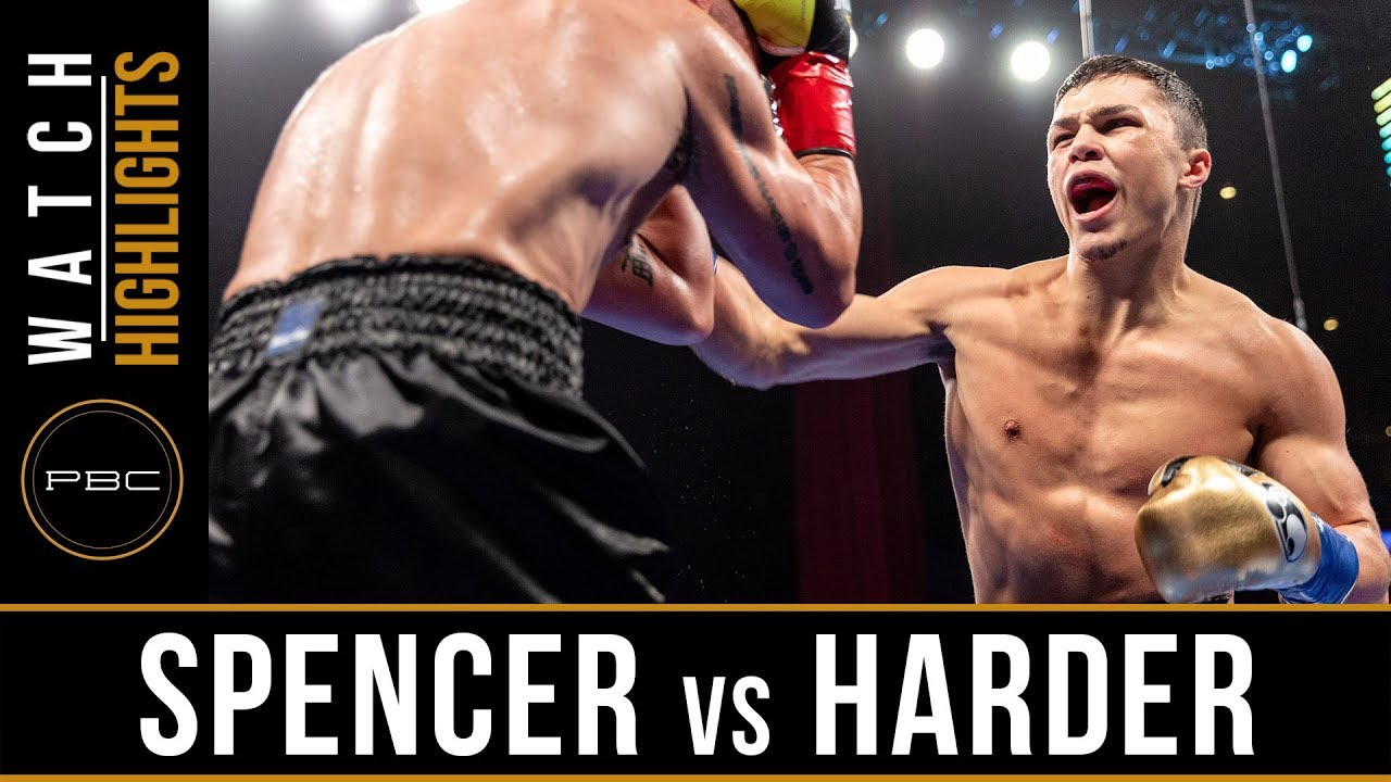 Spencer vs Harder Highlights: January 13, 2019 - PBC on FS1