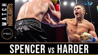 Spencer vs Harder Highlights: January 13, 2019 - PBC on FS1