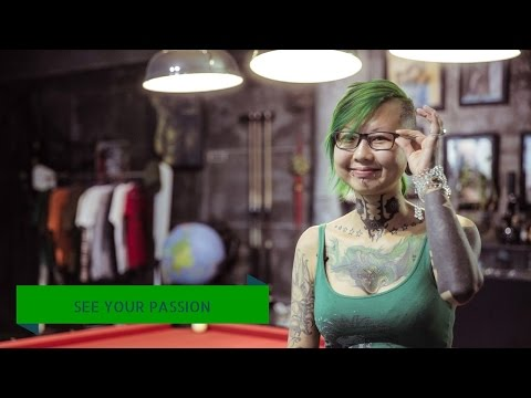 Zhuo Dan Ting - China's female tattoo artist #seeyourpassion