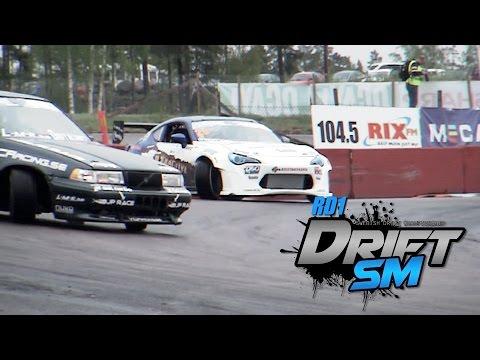 Drift SM RD1 2015 - Swedish Drift Championship