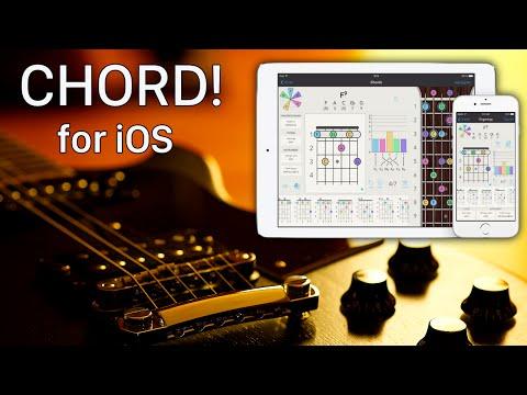 Chord! for iOS - iPhone + iPad Guitar App