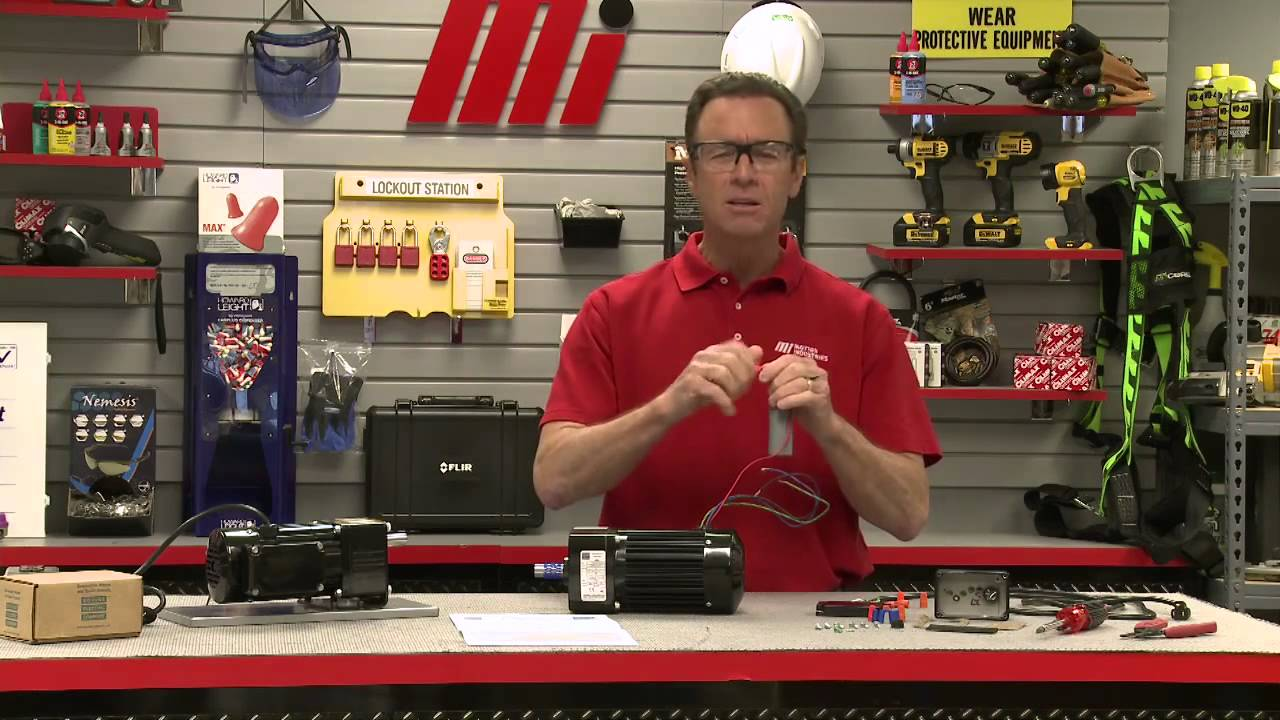 tom s toolbox bodine how to wire a psc gearmotor [ 1280 x 720 Pixel ]