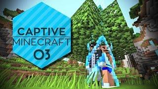 Captive Minecraft #03 - Wie macht man Zaun? [Gameplay German Deutsch] [Let's Play]