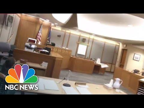 Violent Shaking And Swaying Buildings Reported After Major Alaska Earthquake   NBC News
