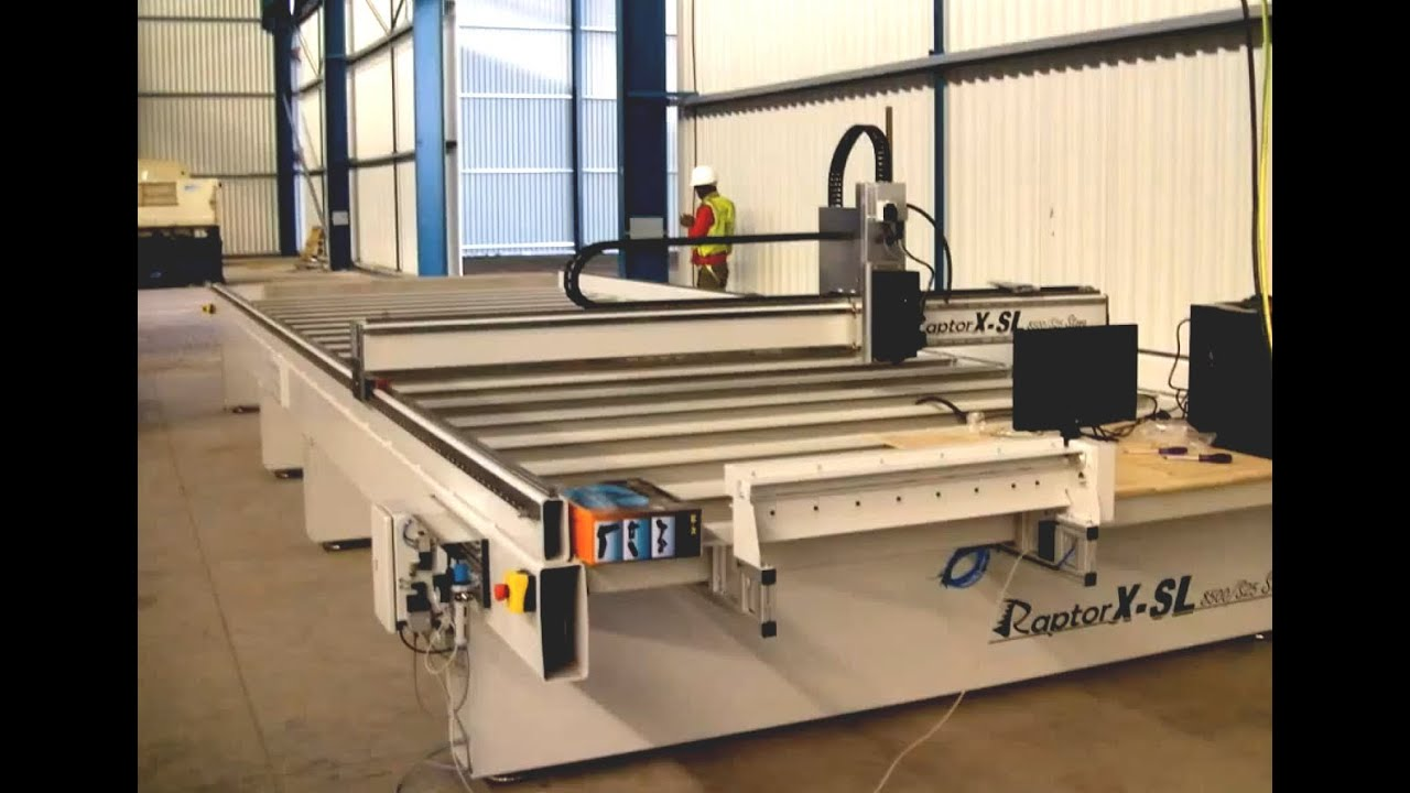 Gantry Cnc Router Raptorx Sl8500s25 Installation In