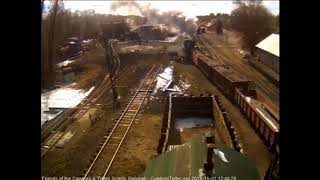 11/01/2018 The ballast train returns to Chama to refill the hoppers and head back out again