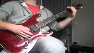 """""""This War Is Ours (Guillotine Pt II)"""" - Escape The Fate guitar cover REDONE"""