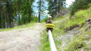 Sommerrodelbahn im Stubaital -  Mountain Coaster
