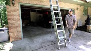 Safety Tips for extension ladder use courtesy of Minnesota Maintenance