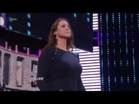 Stephanie McMahon's Big Boobs In A Blue Sweater thumbnail