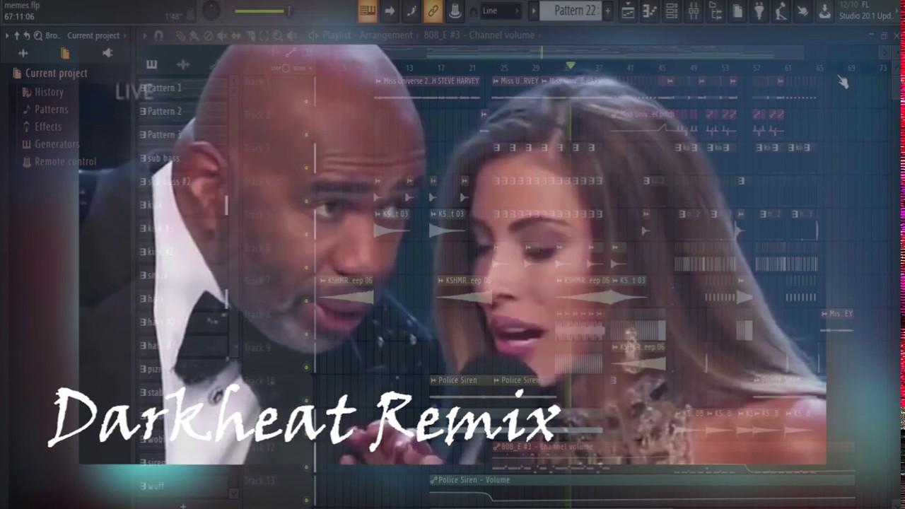 Miss Costa Rica and Steve Harvey Savage ---- DARKHEAT  ( Memes Remix )