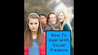 How To Deal With Peer Pressure | How To Stand Up For Yourself