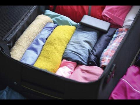 Hướng dẫn xếp quần áo vào Vali khi đi du lịch