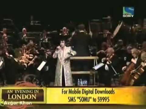 Sonu Nigam - Gulabi Aankhein Jo Teri Dekhi - Rafi Resurrected - An Evening In London Dani