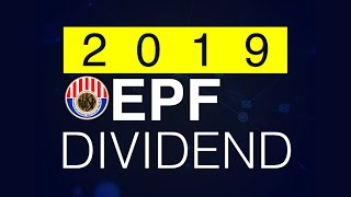 EPF declares dividend of 5.4pct for 2019