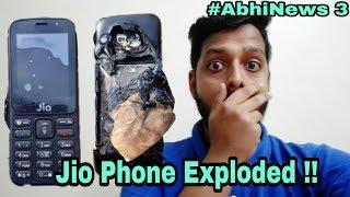 #AbhiNews 3:- Jio phone blast, Samsung galaxy J7 blast,Nokia 9, Samsung linux Os Smartphone