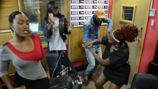 Mayonde and Muthoni DQ Make Adelle Onyango and Shaffie Get Down To Their New Song