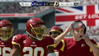 Madden NFL 20 Mock Preseason - Ravens vs Washington DC