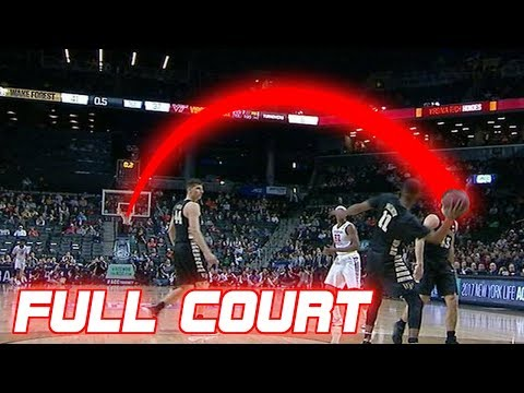 Amazing Full Court Buzzer Beaters in Basketball