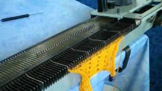 Анонс уроков вязания на вязальных машинах Нева, Северянка