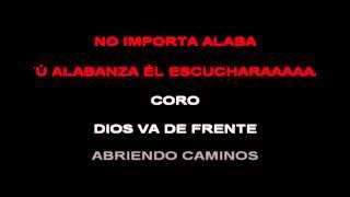 "Pista ""Alaba a Dios"" merengue karaoke"