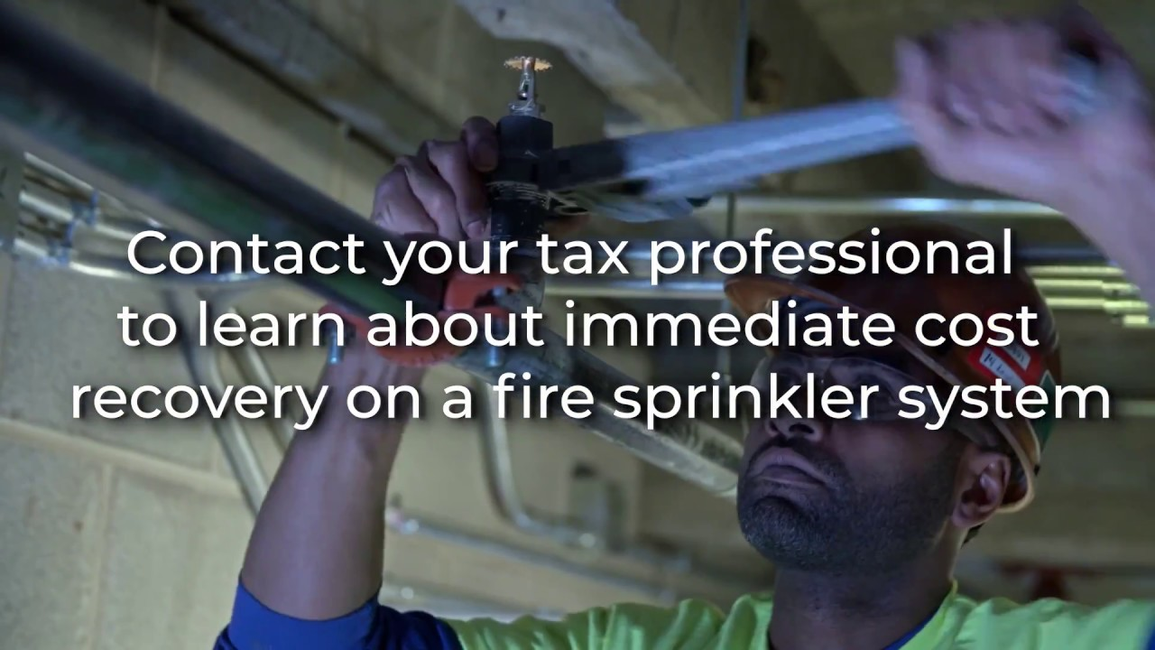Fire Sprinkler Tax Incentives For Small Businesses