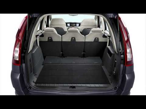 citroen c4 grand picasso luggage space youtube. Black Bedroom Furniture Sets. Home Design Ideas