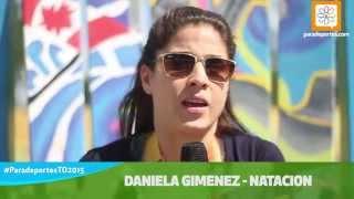 """Daniela Giménez: """"En Río Pretendo Una Medalla"""""""