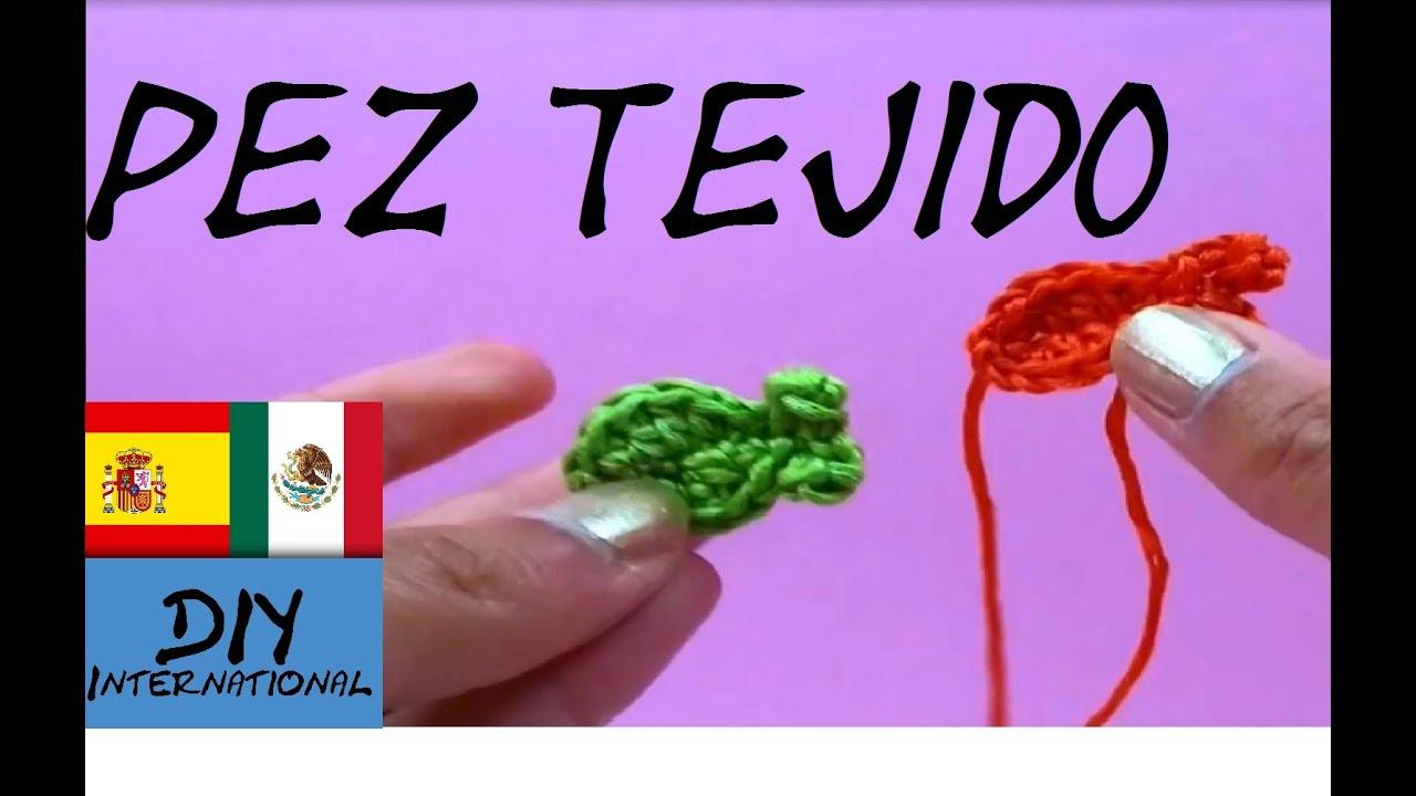 PEZ A CROCHET - FIGURAS TEJIDAS A CROCHET PASO A PASO - TUTORIAL DIY ...