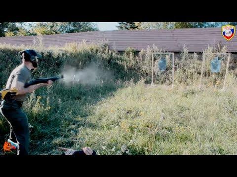 Стрельба из Fabarm Sdass, инструктор Сутаев обработанное