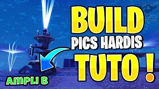 Tuto BUILD - PICS HARDIS AMPLI B FORTNITE SAUVER LE MONDE PS4/PC 1080P HD FR