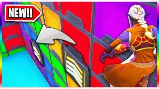 *NEW* Rainbow WALL JUMPER Parkour! (Fortnite Creative Mode)