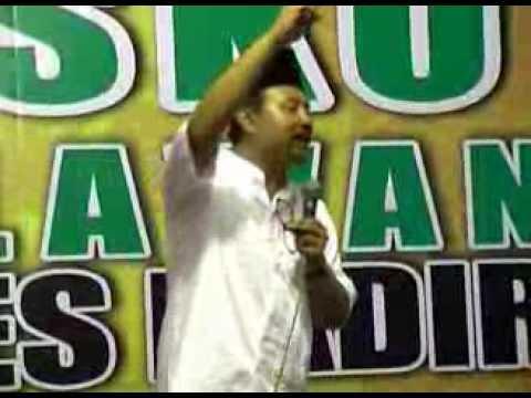 """Gus Ipul """"Drs. H. Saifullah Yusuf"""" On Podium General 'Kepemimpinan dan Pembangunan'"""