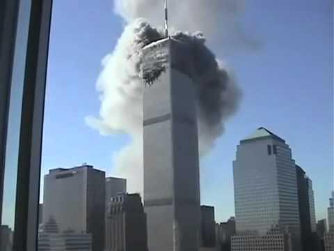 احداث 11 9 مشهد كامل انهيار البرجين Youtube