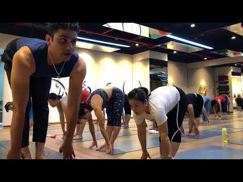 Asthanga Yoga | Sun Salutation |  Hanoi|  By Master. Praveen