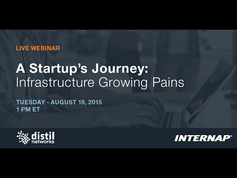 A Startup's Journey: Infrastructure Growing Pains