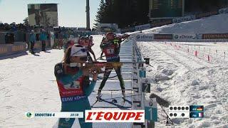 Le résumé vidéo du relais féminin - Biathlon - CM (F)